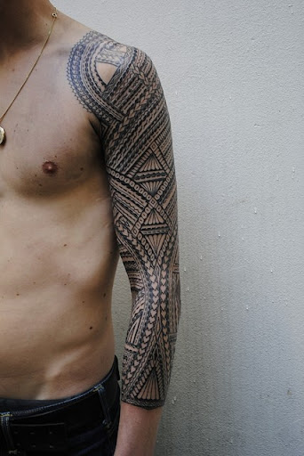 cool tattoo design for men arms full sleeve