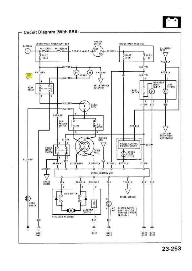 93 civic alarm wiring diagram