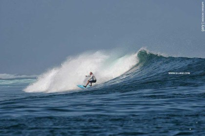 G-Land Surf Report on October 10, 2015