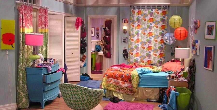 Decoração Apartamento da Penny Big Bang Theory