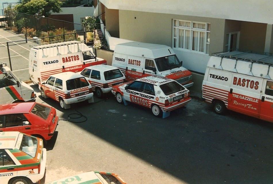 Tre Gazzelle Racing Team - Bastos 1987 Rally Pinterest - team 7 k che