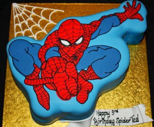 Spiderman Face Cake Design : 50 Best Spiderman Birthday Cakes Ideas And Designs ...