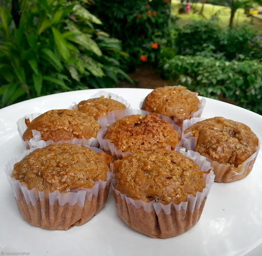 Chocolate Carrot Muffins Recipe