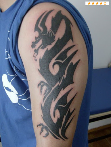 tribal tattoo ideas for men arms