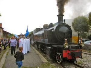 Entrevaux: Train a vapeur