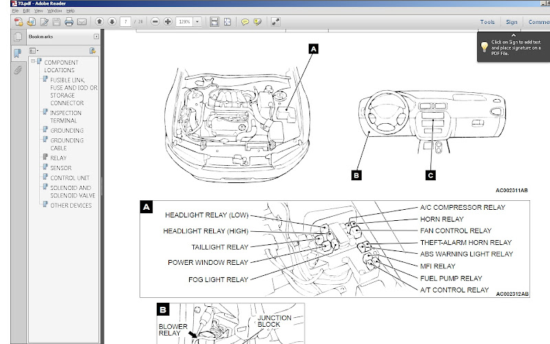 mitsubishi fuse box diagram gal