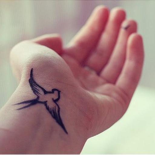 wrist tattoo women