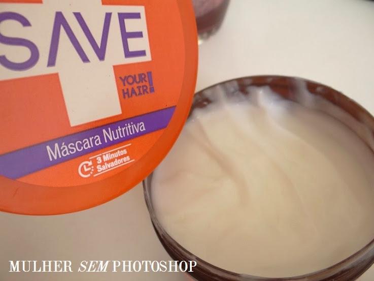 Máscara Nutritiva Save Your Hair da Yenzah