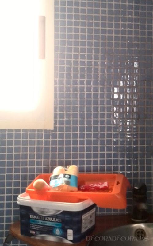Pintar el cuarto de ba o - Como pintar los azulejos del cuarto de bano ...