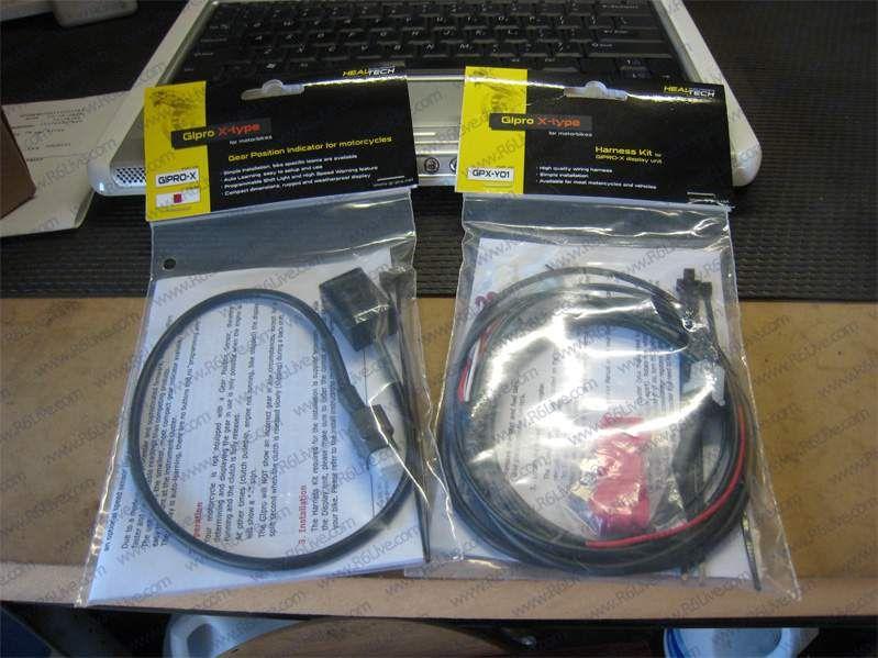 Montaż GIpro x-type + GPX-Y01 w Fazerze S2 (manual) Forum Yamaha