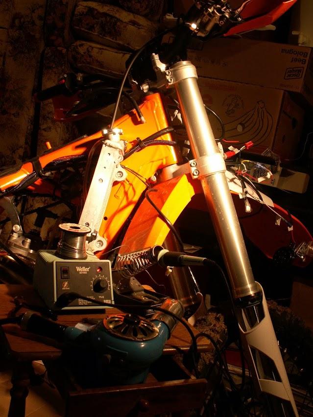 Installing Sicass racing\u0027s street electrics on a KTM - 2015 300 XC-W