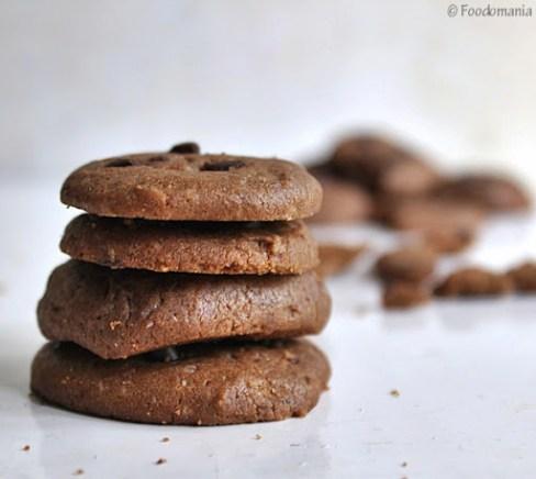 Nutella Chocolate Chip Cookie Sandwich Recipe