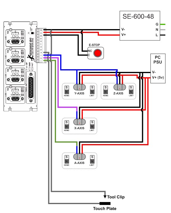 low voltage home wiring switches