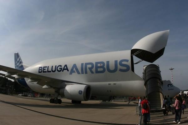 Beluga Airbus - Oft in Hamburg zu sehen