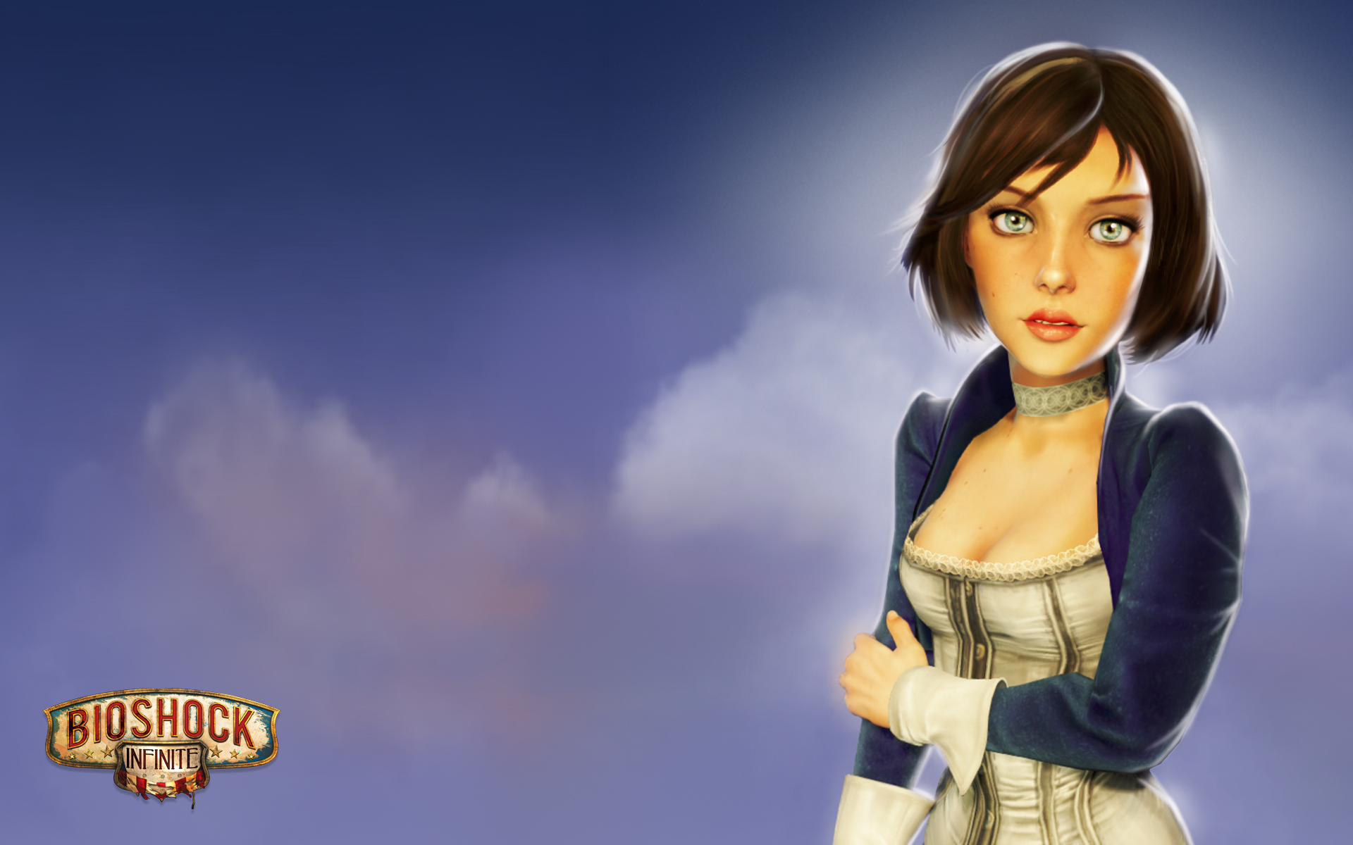 Rock N Roll Wallpaper For Girls Elizabeth Bioshock Infinite Mystery Wallpaper