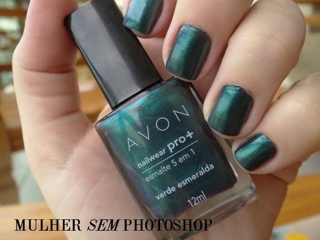 Esmalte Avon Nailwear Pro + Verde Esmeralda