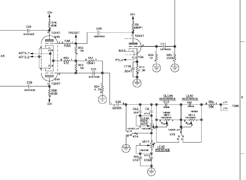 Peavey Jsx Schematic Electronic Schematics collections