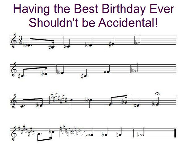 Enharmonic+Birthdayjpg (604×507) funny Pinterest Music theory - sales associate cover letter