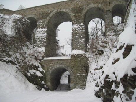 Old town bridge in Cesky Krumlov