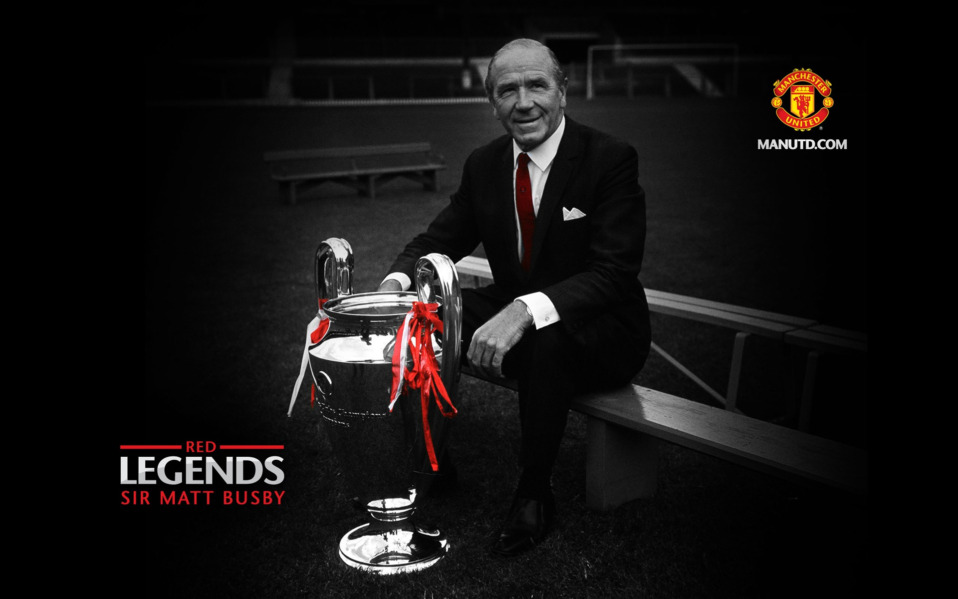 Go Get It Girl Laptop Wallpaper Sir Matt Red Legends Manchester United Mystery Wallpaper