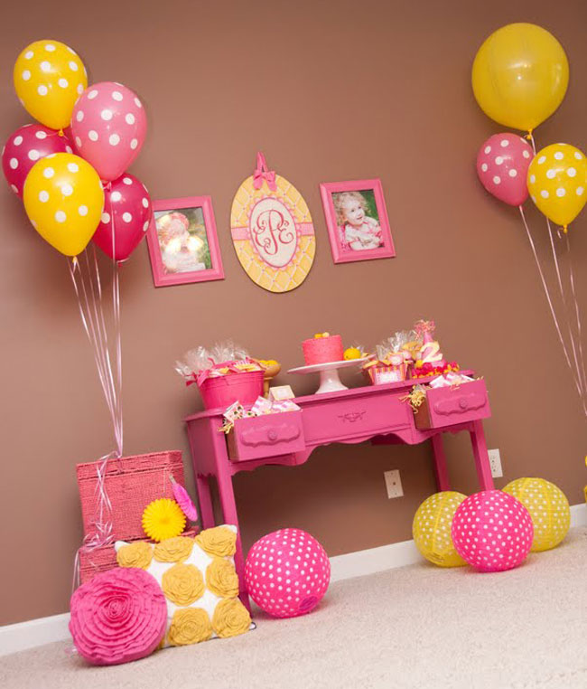 Pink lemonade party Charlee is 2! Chickabug - birthday party design