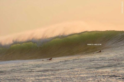 G-Land Surf Report on October 7, 2015