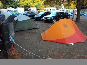 Camping Haller in Budapest