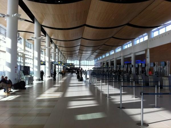 Modern - Der Flughafen von Winnipeg