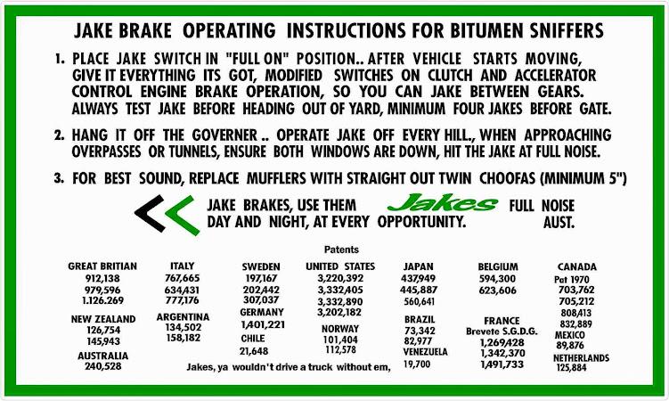 Jacobs engine brake dash sticker Truck engineu0027s \ Pinterest - rental assistance form