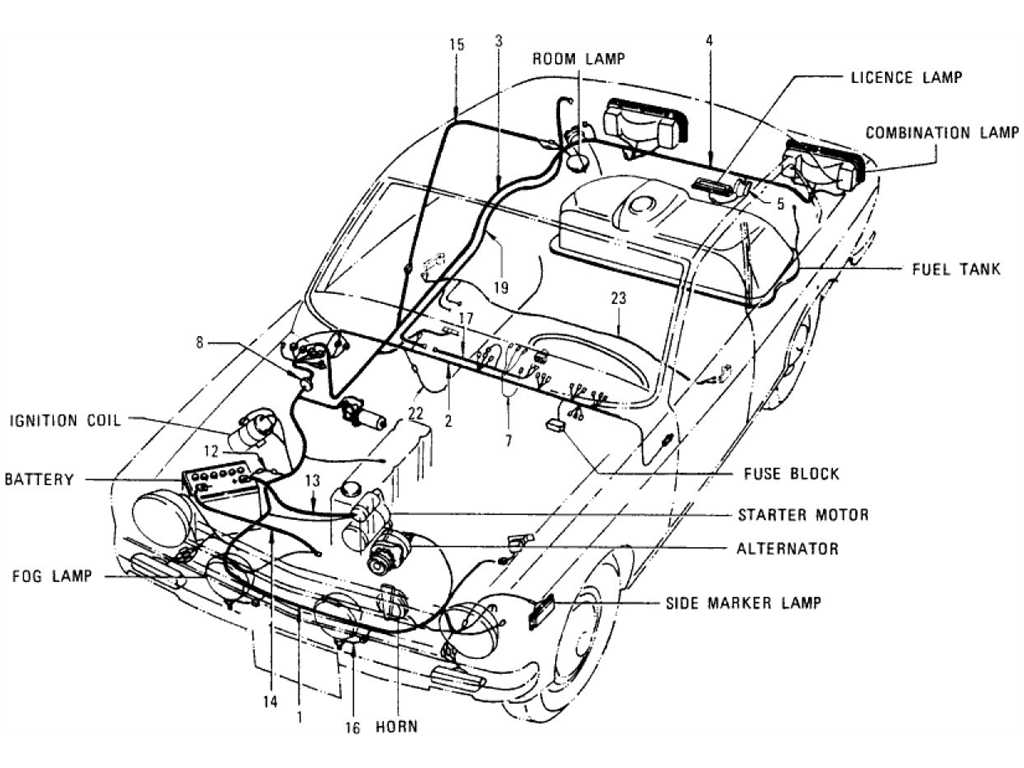 1970 datsun 12 fuse box diagram