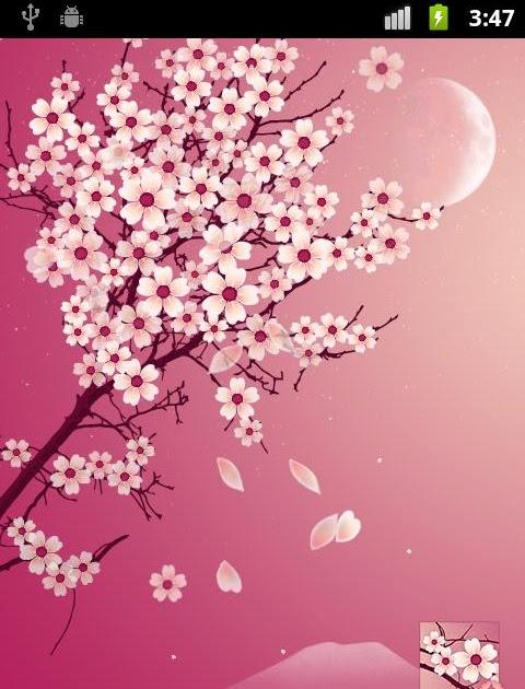 Sakura Falling Live Wallpaper Apk Sakura Pro Live Wallpaper Apk Free Apushapk