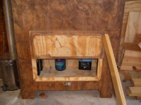 powder storage box