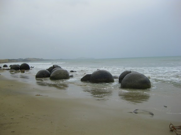 The Moeraki Boulders, South Island, New Zealand