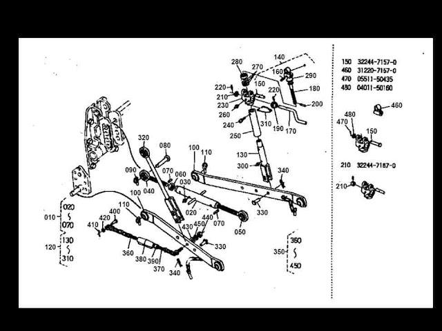 kubota bx2200 tractor wiring diagrams