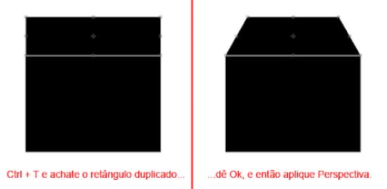 formas básicas da caixa