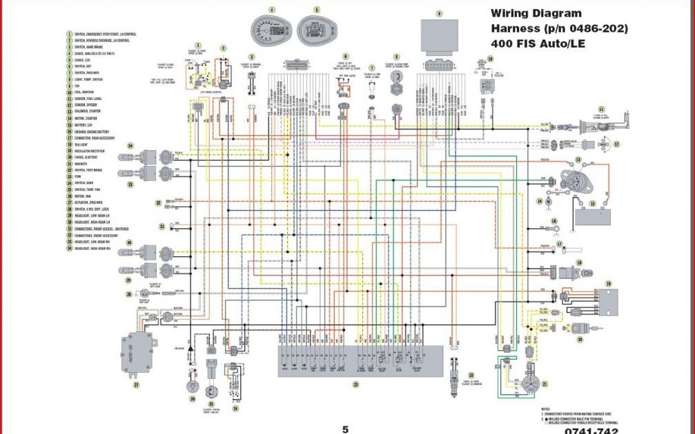 wiring schematic 2007 arctic cat 700