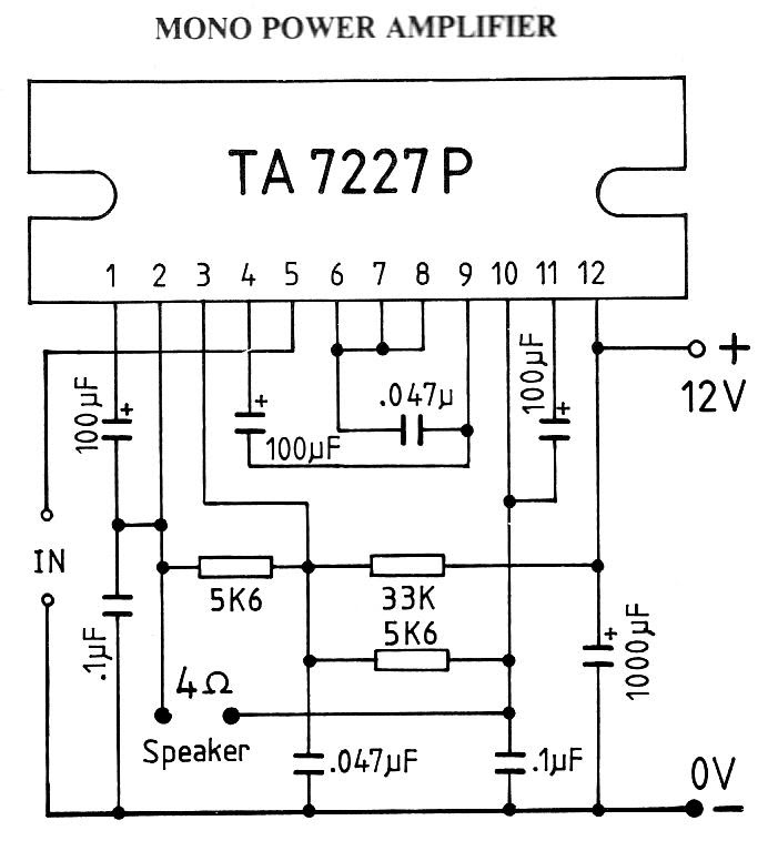t con board circuit diagram