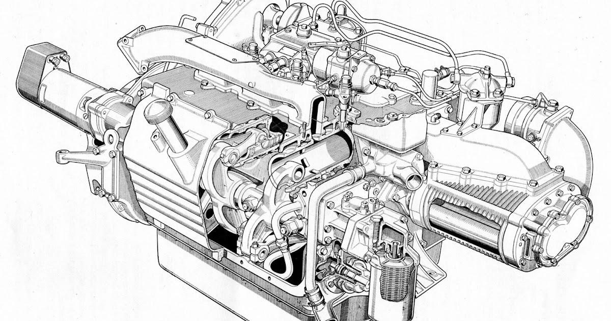 66 chevy engine diagram