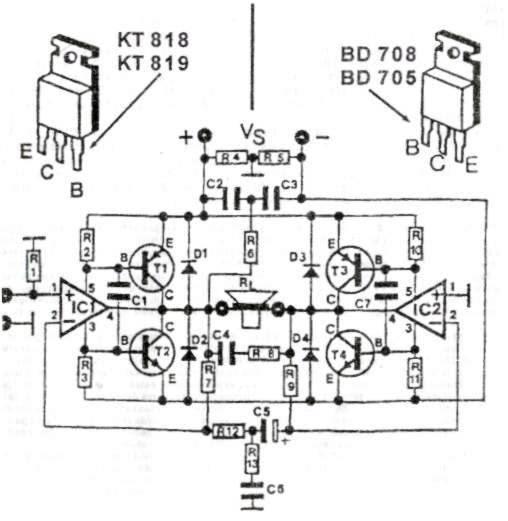 2000w power amplifier circuit diagrams