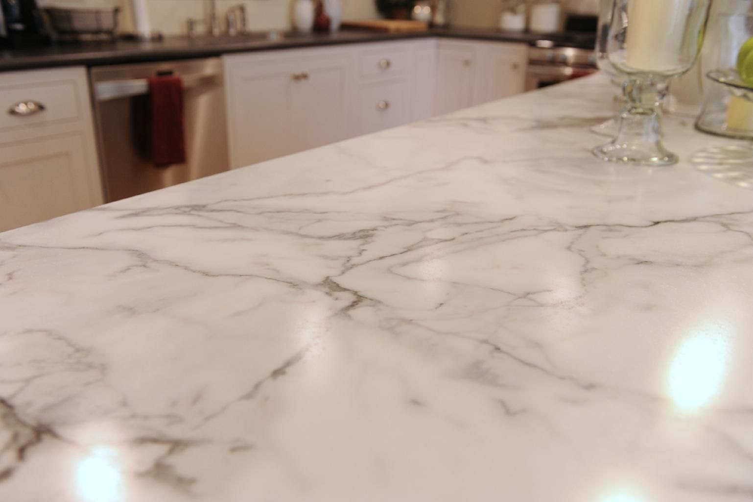 Calcutta Marble Laminate Countertop Slab Granite Countertops Wilsonart Calcutta