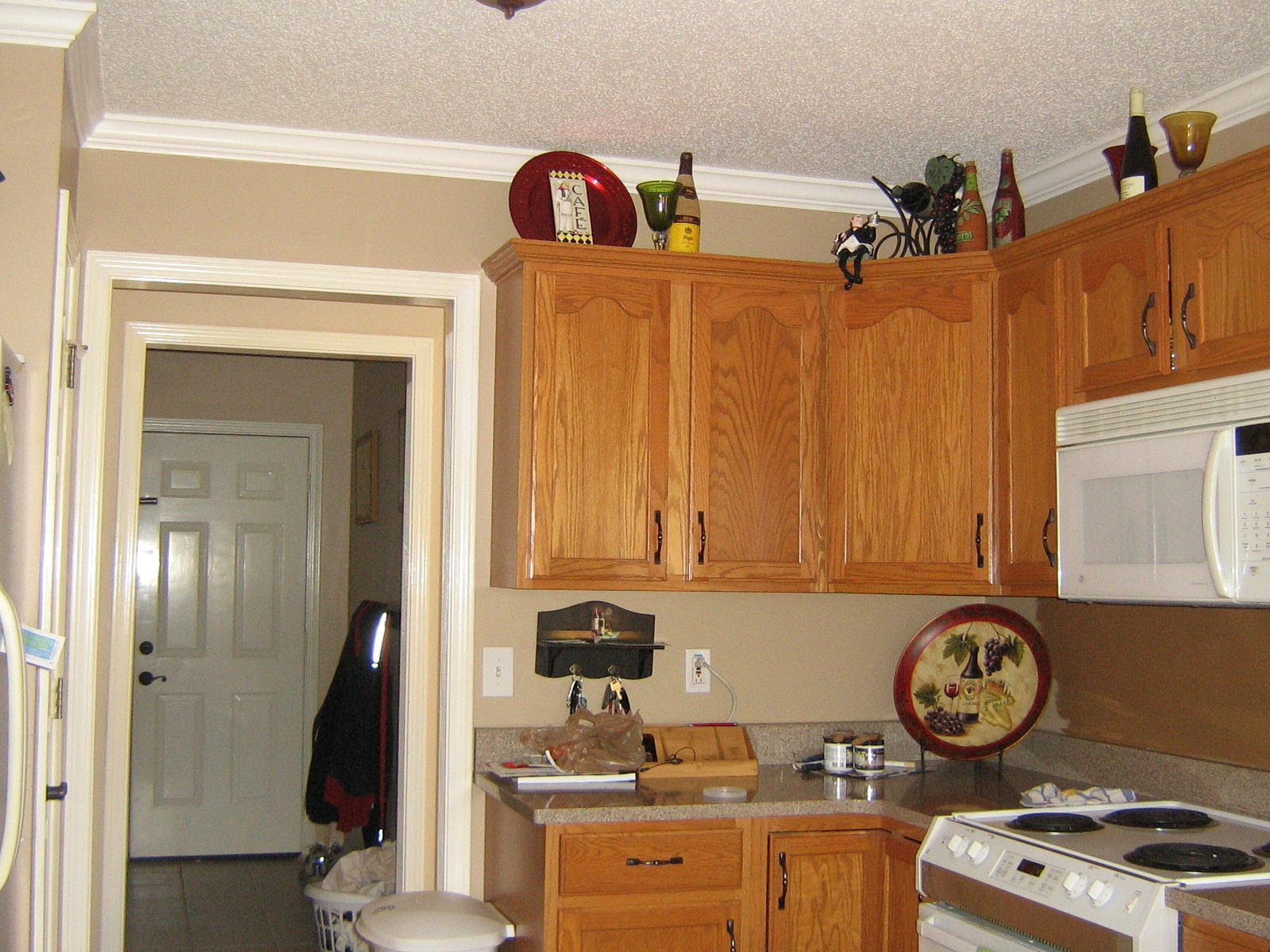 Kitchen Color Schemes With Oak Cabinets Kitchen Paint Colors With Oak Cabinets Apartment