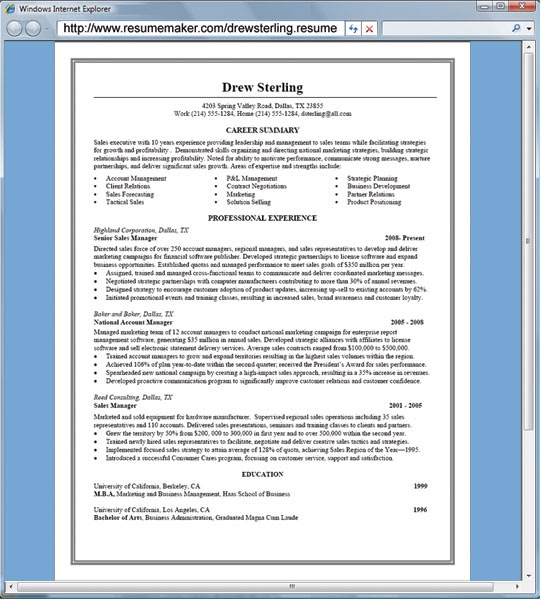 resume maker software review professional ethics case study examples