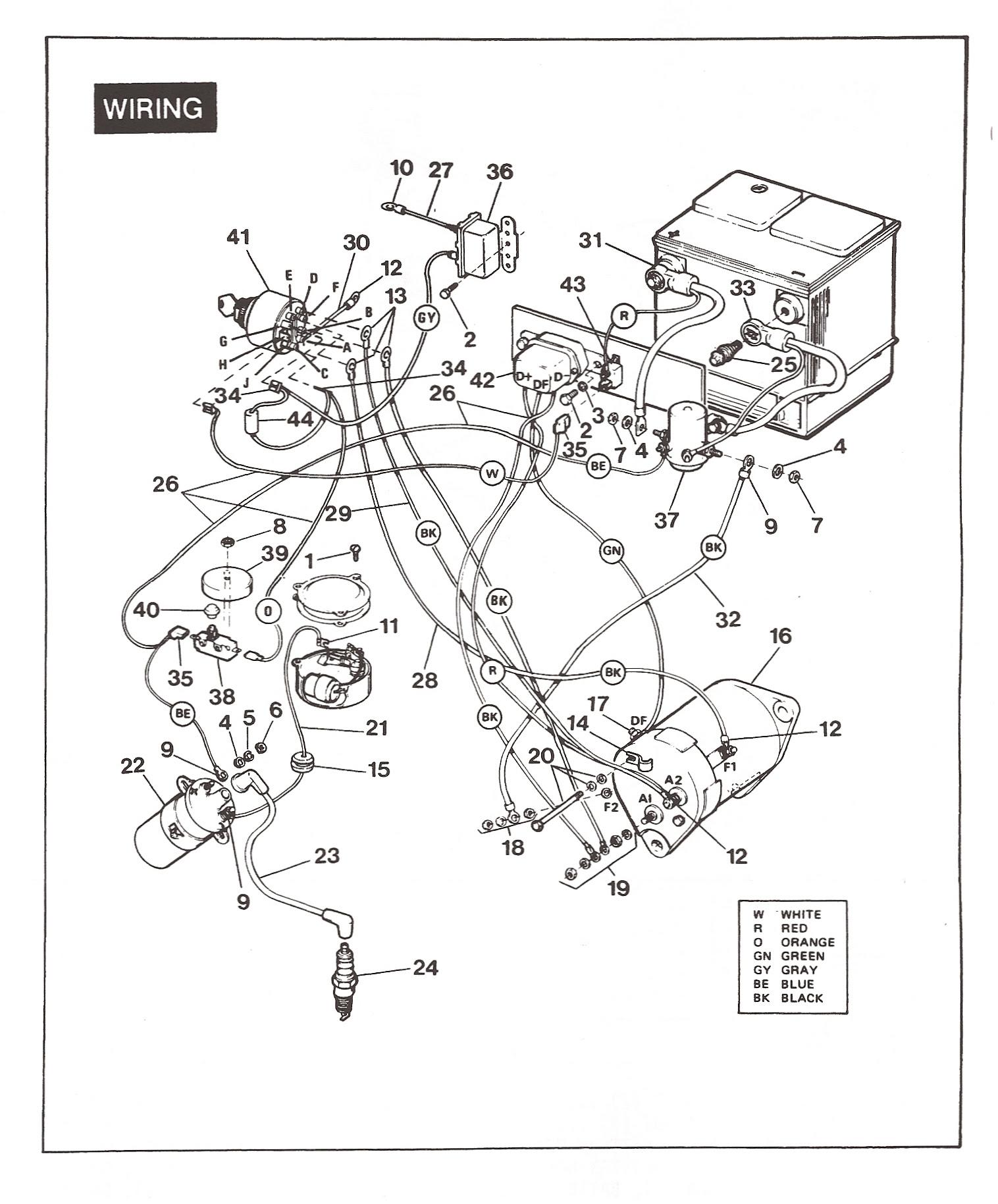 vintage car radio wiring diagram