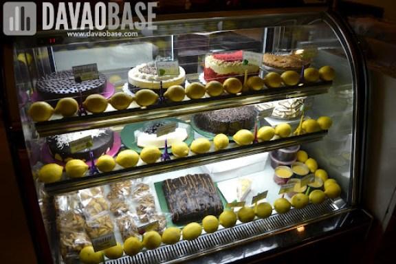 Delectable desserts at Cafe Demitasse
