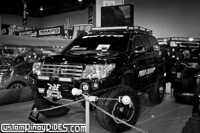 Manila Auto Salon Custom Pinoy Rides Toyota Land Cruiser Black