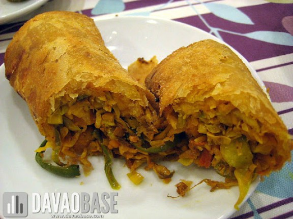 Dencia's Fried Lumpia made of vegetables