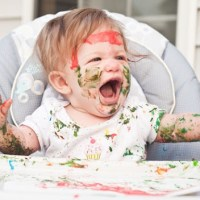 How to make safe finger paint!