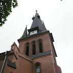 Clock tower of the Mary Magdalene parish in Chorzów Stary.