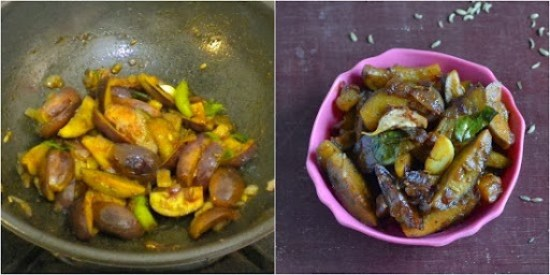 how to make brinjal chops