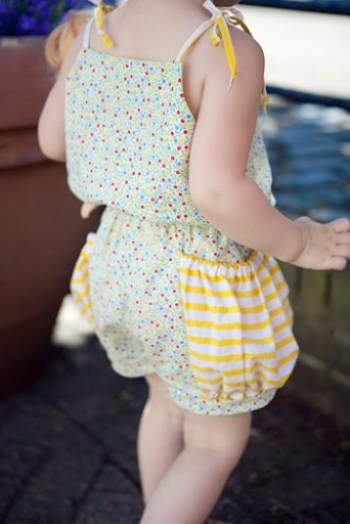 Bubble Pocket Pleated Rompers 3
